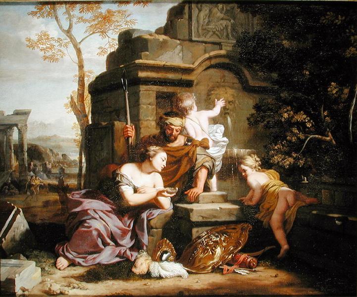 Granida and Daiphilo | Gerard de Lairesse | oil painting