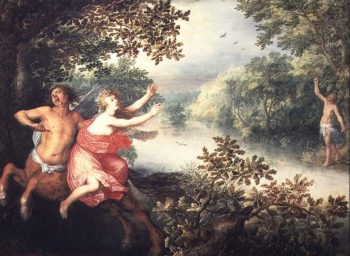 Hercules Deianeira and the centaur Nessus 1612 | David Vinckboons | oil painting