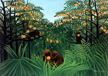 The Tropics | Henri J F Rousseau | oil painting