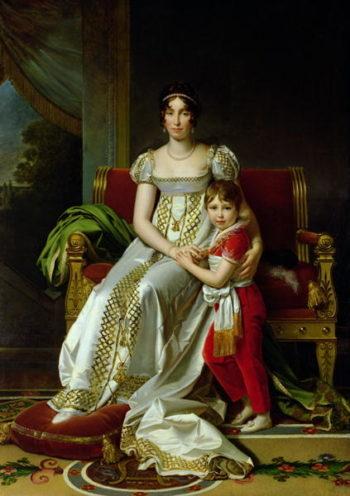 Hortense de Beauharnais | Francois Pascal Simon Baron Gerard | oil painting