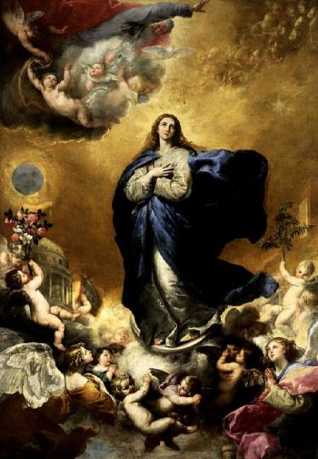 Immaculate Conception 1635 | Jusepe de Ribera | oil painting