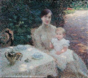 In the Garden 1904 | Ernest Joseph Laurent | oil painting
