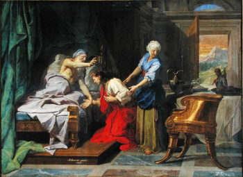 Isaac Blessing Jacob 1692 | Jean Baptiste Jouvenet | oil painting