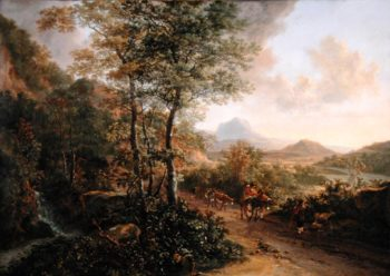 Italian Landscape 1637 41 | Jan Both | oil painting