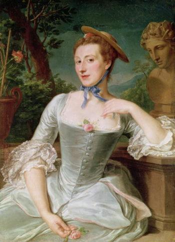 Jeanne Antoinette Poisson | Francois Hubert Drouais | oil painting