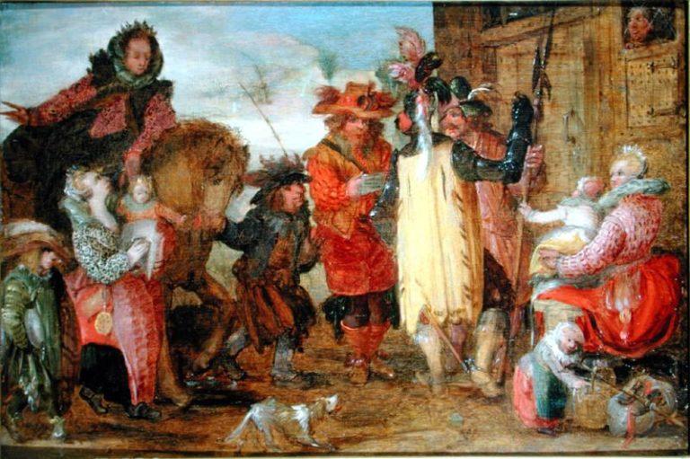 Jeanne de Flandres | David Vinckboons | oil painting