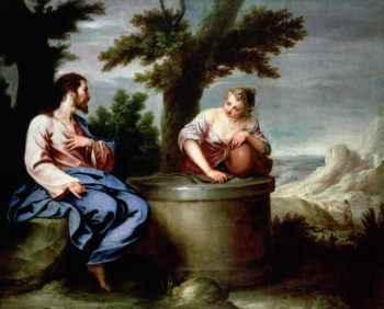 Jesus and the Samaritan Woman | Alonso Cano | oil painting