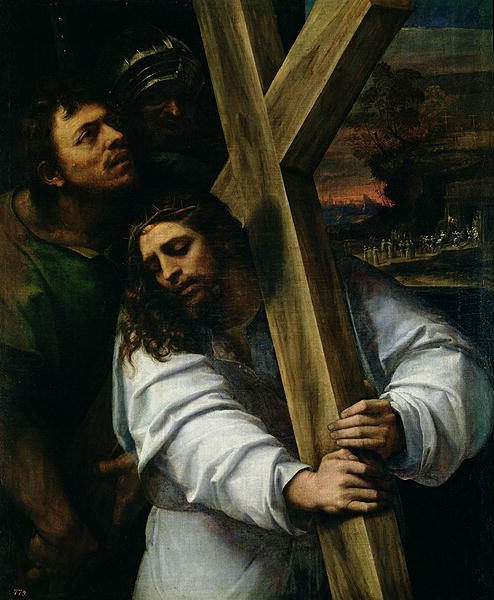 Jesus Carrying the Cross 1535 | Sebastiano del Piombo | oil painting