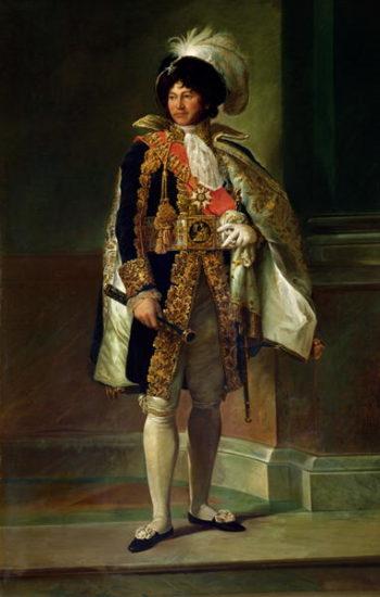 Joachim Murat | Francois Pascal Simon Baron Gerard | oil painting
