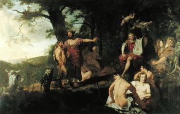 Judgement of Midas | Gerard de Lairesse | oil painting