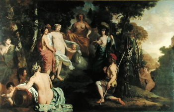 Judgement of Paris | Gerard de Lairesse | oil painting