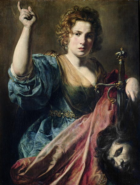 Judith   Valentin de Boulogne   oil painting