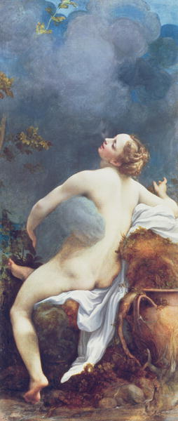 Jupiter and Io | Correggio | oil painting