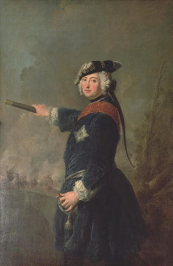King Frederick II the Great of Prussia | Antoine Pesne | oil painting