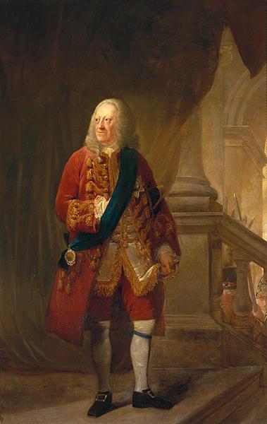 King George II 1759 | Robert Edge Pine | oil painting