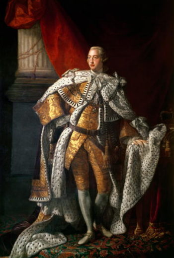 King George III | Allan Ramsay | oil painting