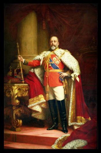 King Edward VII 1902 | Sir Samuel Luke Fildes | oil painting