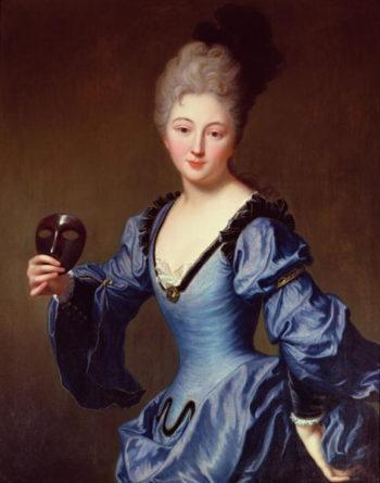 La Comtesse de Bersac | Jean Baptiste Santerre | oil painting