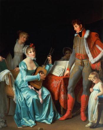 La Duchesse Abrantes et le General Junot | Marguerite Gerard | oil painting