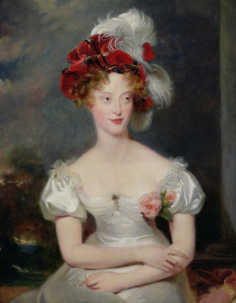 La Duchesse de Berry | Sir Thomas Lawrence | oil painting