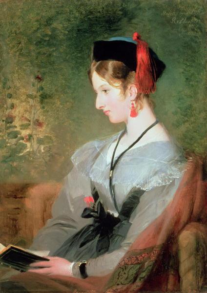 Lady Dyke   Sir Edwin Landseer   oil painting