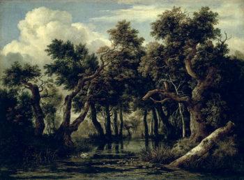Landscape with an Oak 1634   Jan Josephsz van Goyen   oil painting