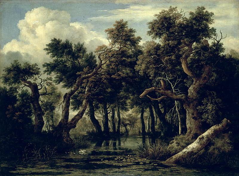 Landscape with an Oak 1634 | Jan Josephsz van Goyen | oil painting