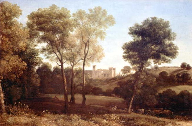Landscape with Castle | Claude Lorrain | oil painting