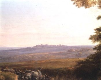 Landscape with Cowherds | Claude Lorrain | oil painting