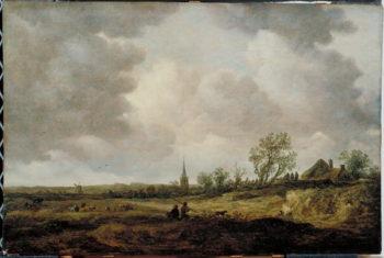 Landscape with Dunes 1647 | Jan Josephsz van Goyen | oil painting