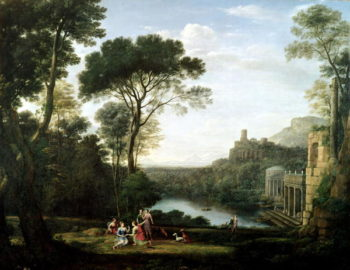 Landscape with the Nymph Egeria | Claude Lorrain | oil painting
