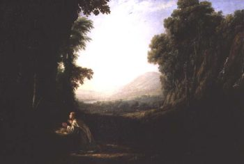 Landscape with the Repentant Magdalene | Claude Lorrain | oil painting