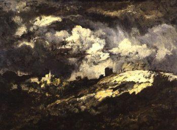 Landscape | Narcisse Virgile Diaz de la Pena | oil painting