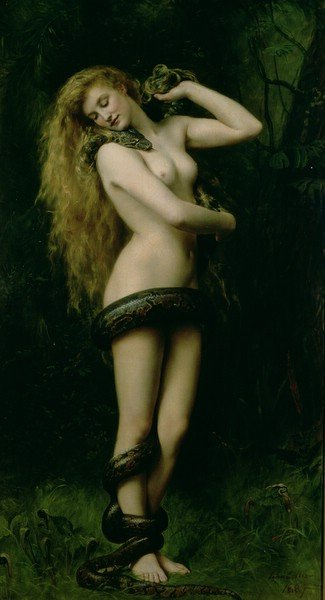 Lilith 1887 | John Collier | oil painting