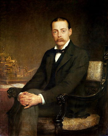 Lord Northcote | Edwin Longsden Long | oil painting