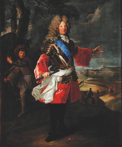Louis de France | Hyacinthe Rigaud | oil painting