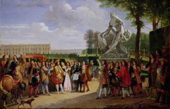 Louis XIV | Anicet Charles Lemonnier | oil painting