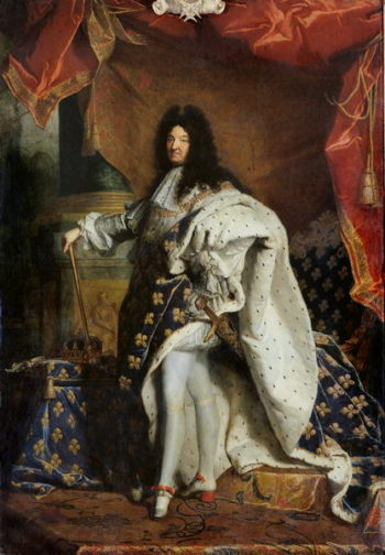 Louis XIV | Hyacinthe Rigaud | oil painting