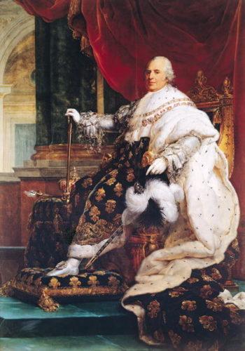 Louis XVIII | Francois Pascal Simon Baron Gerard | oil painting