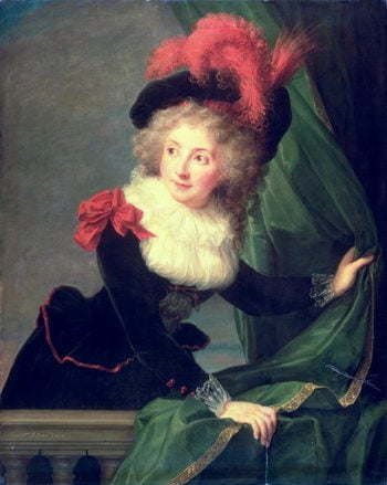 Madame Perregaux 1789 | Elisabeth Louise Vigee Lebrun | oil painting
