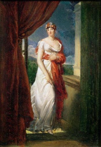 Madame Tallien | Francois Pascal Simon Baron Gerard | oil painting
