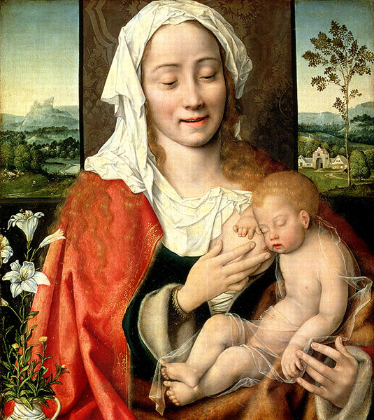 Madonna and Child 1525 30 | Joos van Cleve | oil painting