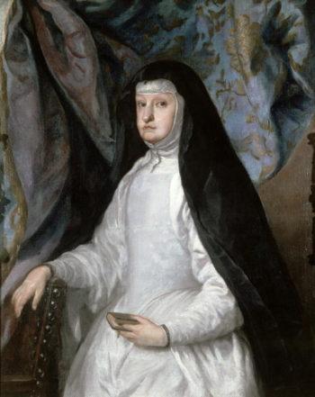 Mariana of Austria Queen of Spain   Claudio Coello   oil painting