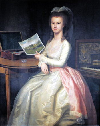 Marianne Drake 1783 | Ralph Earl or Earle | oil painting