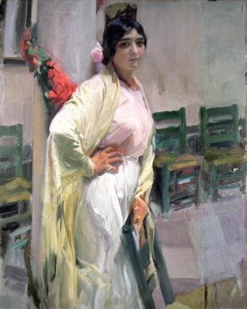 Maria the Pretty One 1914 | Joaquin Sorolla y Bastida | oil painting