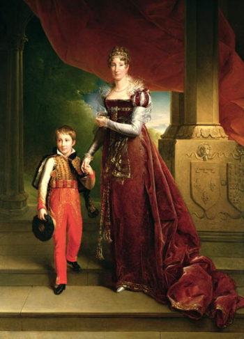 Marie Amelie de Bourbon | Francois Pascal Simon Baron Gerard | oil painting