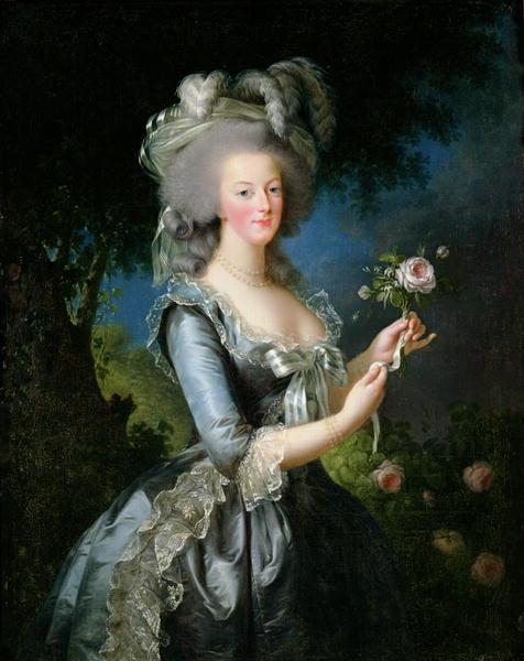 Marie Antoinette | Elisabeth Louise Vigee Lebrun | oil painting