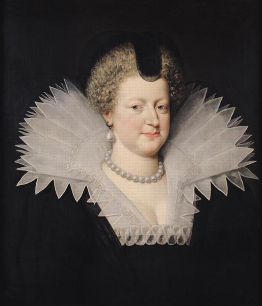 Marie de Medici | Frans II Pourbus | oil painting