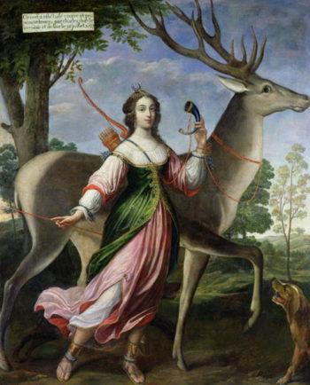 Marie de Rohan Montbazon | Claude Deruet | oil painting