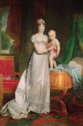 Marie Louise | Francois Pascal Simon Baron Gerard | oil painting